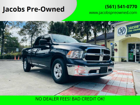 2016 RAM Ram Pickup 1500 for sale at Jacobs Pre-Owned in Lake Worth FL