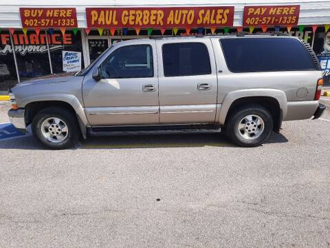 2002 Chevrolet Suburban for sale at Paul Gerber Auto Sales in Omaha NE