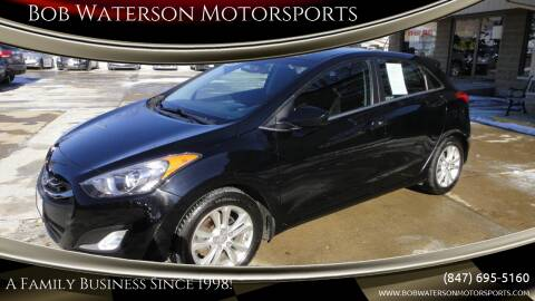 2014 Hyundai Elantra GT for sale at Bob Waterson Motorsports in South Elgin IL
