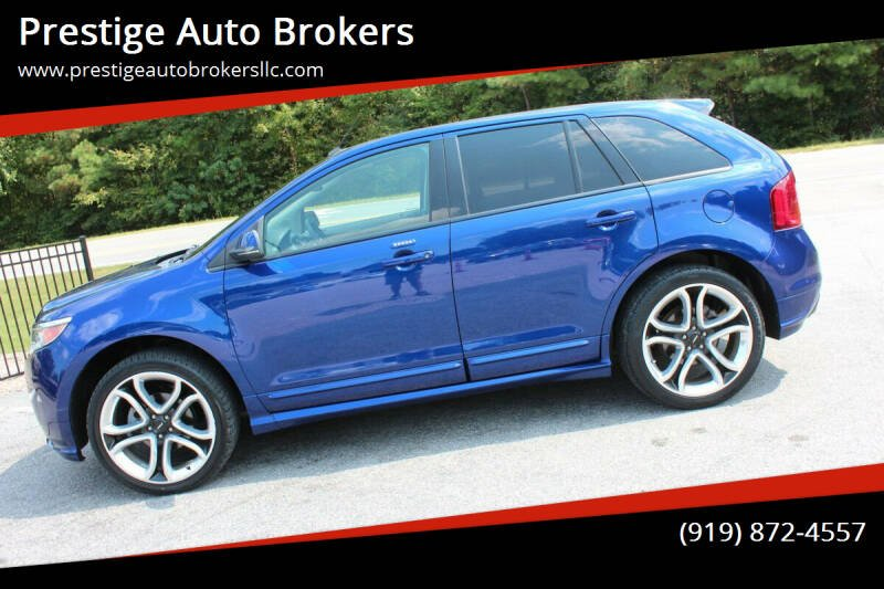 2013 Ford Edge for sale at Prestige Auto Brokers in Raleigh NC