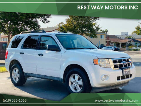 2012 Ford Escape for sale at BEST WAY MOTORS INC in San Diego CA