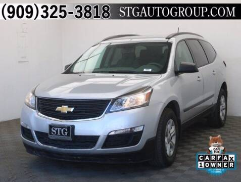 2017 Chevrolet Traverse for sale at STG Auto Group in Montclair CA
