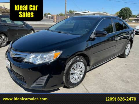 2012 Toyota Camry for sale at Ideal Car Sales in Los Banos CA