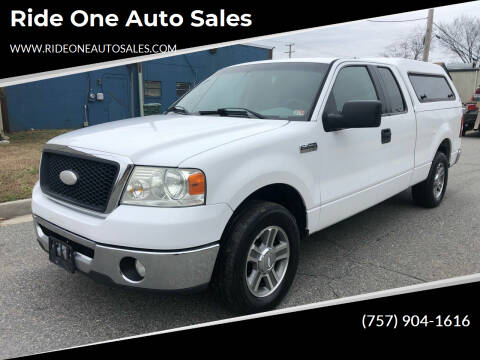 2008 Ford F-150 for sale at Ride One Auto Sales in Norfolk VA