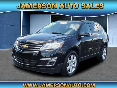 2016 Chevrolet Traverse for sale at Jamerson Auto Sales in Anderson IN