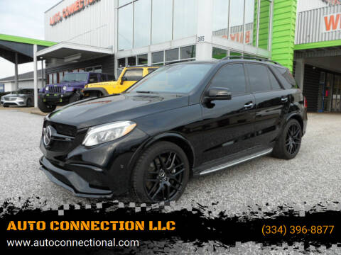 2018 Mercedes-Benz GLE for sale at AUTO CONNECTION LLC in Montgomery AL