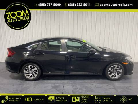 2016 Honda Civic for sale at ZoomAutoCredit.com in Elba NY