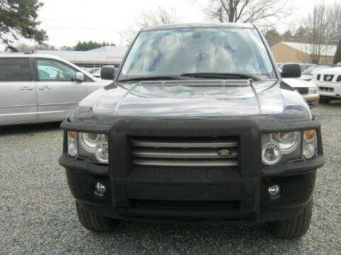 2004 Land Rover Range Rover for sale at Speed Auto Inc in Charlotte NC