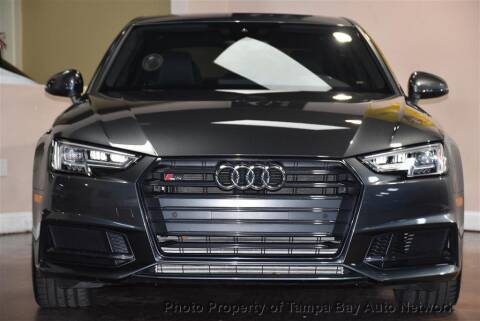 2018 Audi S4 for sale at Tampa Bay AutoNetwork in Tampa FL