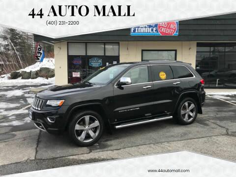 2014 Jeep Grand Cherokee for sale at 44 Auto Mall in Smithfield RI