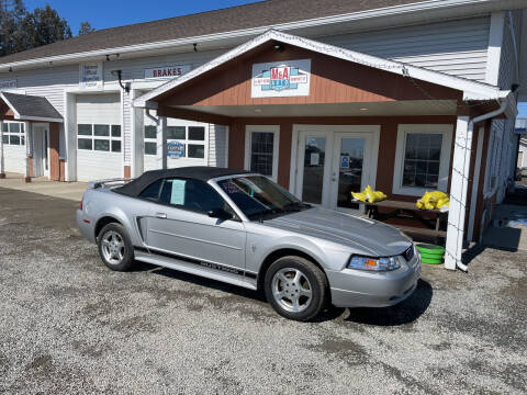 2003 Ford Mustang for sale at M&A Auto in Newport VT
