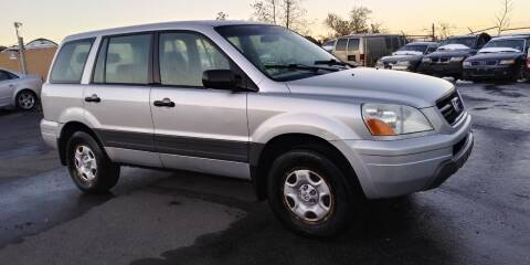 2005 Honda Pilot for sale at JG Motors in Worcester MA