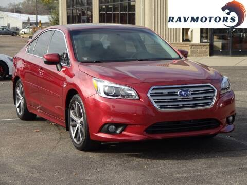 2015 Subaru Legacy for sale at RAVMOTORS 2 in Crystal MN