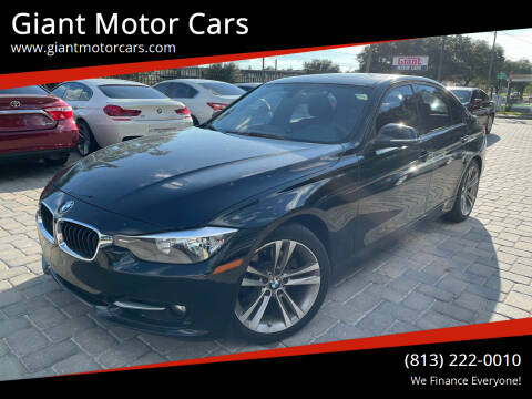 2013 BMW 3 Series for sale at Giant Motor Cars in Tampa FL
