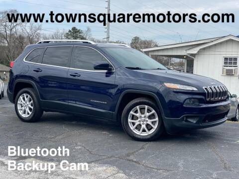 2015 Jeep Cherokee for sale at Town Square Motors in Lawrenceville GA