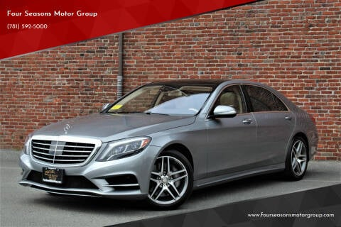 2015 Mercedes-Benz S-Class for sale at Four Seasons Motor Group in Swampscott MA