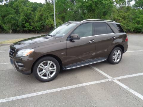 2012 Mercedes-Benz M-Class for sale at ACH AutoHaus in Dallas TX