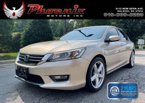 2015 Honda Accord for sale at Phoenix Motors Inc in Raleigh NC