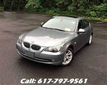 2010 BMW 5 Series for sale at Wheeler Dealer Inc. in Acton MA