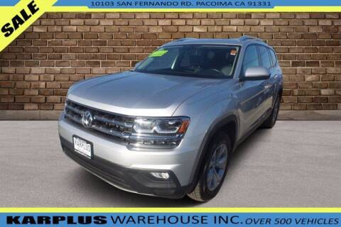 2018 Volkswagen Atlas for sale at Karplus Warehouse in Pacoima CA