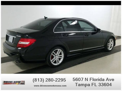 2014 Mercedes-Benz C-Class for sale at Drive Now Motors USA in Tampa FL