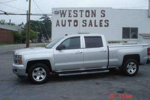 2014 Chevrolet Silverado 1500 for sale at Weston's Auto Sales, Inc in Crewe VA