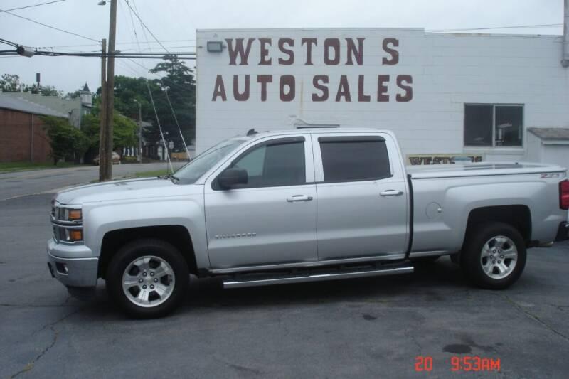 2014 Chevrolet Silverado 1500 for sale at Weston's Auto Sales, Inc in Crewe VA