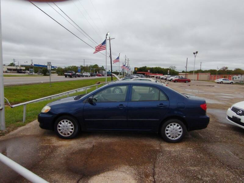 2006 Toyota Corolla for sale at BIG 7 USED CARS INC in League City TX
