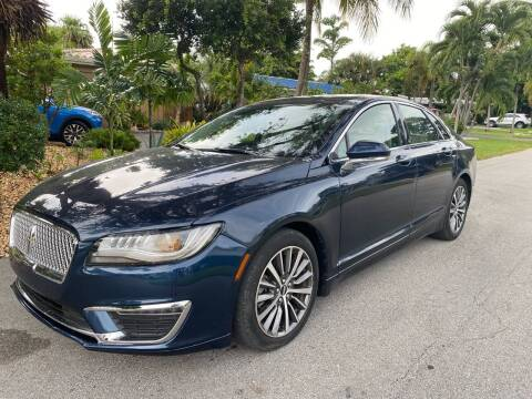 2017 Lincoln MKZ for sale at Car Girl 101 in Oakland Park FL