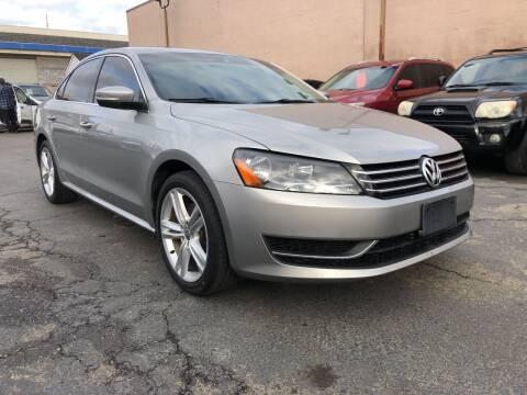2014 Volkswagen Passat for sale at Cars 2 Go in Clovis CA