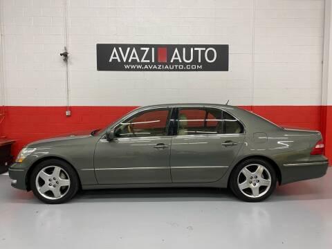 2006 Lexus LS 430 for sale at AVAZI AUTO GROUP LLC in Gaithersburg MD