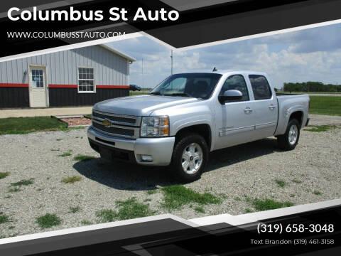 2013 Chevrolet Silverado 1500 for sale at Columbus St Auto in Crawfordsville IA