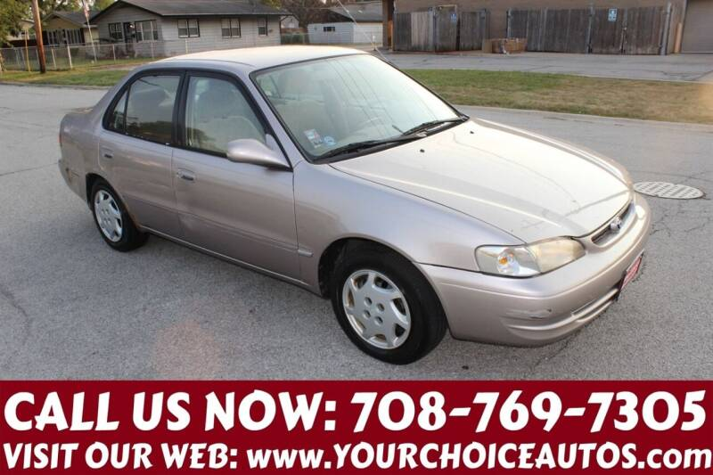 1999 Toyota Corolla for sale at Your Choice Autos in Posen IL