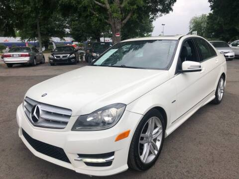 2012 Mercedes-Benz C-Class for sale at Atlantic Auto Sales in Garner NC