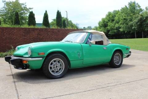 1976 Triumph Spitfire GT6 for sale at MUSCLECARDEALS.COM LLC in White Bluff TN