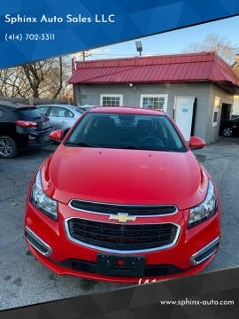 2016 Chevrolet Cruze Limited for sale at Sphinx Auto Sales LLC in Milwaukee WI