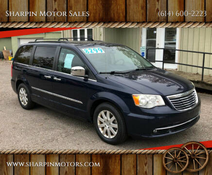 2012 Chrysler Town and Country for sale at Sharpin Motor Sales in Columbus OH