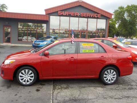 2012 Toyota Corolla for sale at Super Service Used Cars in Milwaukee WI