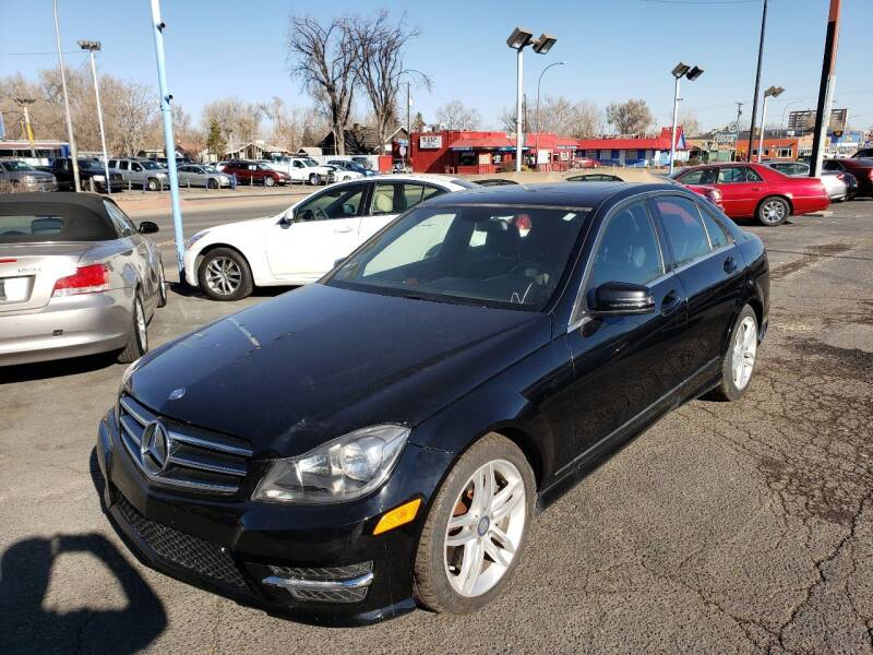 2014 Mercedes-Benz C-Class for sale at A & B Auto in Lakewood CO