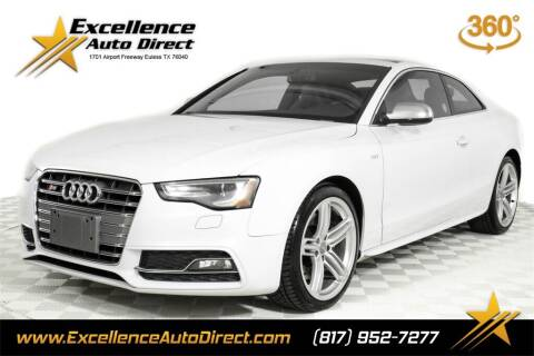 2014 Audi S5 for sale at Excellence Auto Direct in Euless TX