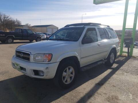 2002 Nissan Pathfinder for sale at Independent Auto in Belle Fourche SD