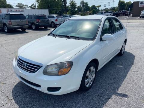 2009 Kia Spectra for sale at Brewster Used Cars in Anderson SC