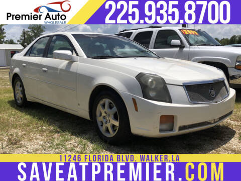 2006 Cadillac CTS for sale at Premier Auto Wholesale in Baton Rouge LA