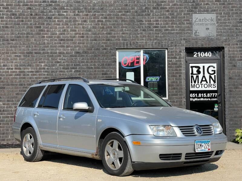 2005 Volkswagen Jetta for sale at Big Man Motors in Farmington MN