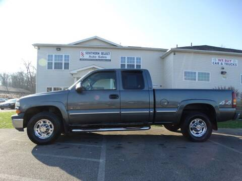 2001 Chevrolet Silverado 2500 for sale at SOUTHERN SELECT AUTO SALES in Medina OH