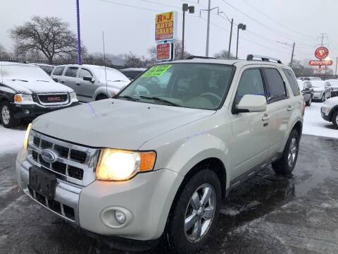 2009 Ford Escape for sale at RJ AUTO SALES in Detroit MI