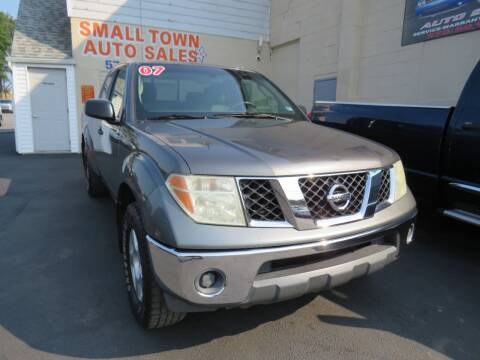 2007 Nissan Frontier for sale at Small Town Auto Sales in Hazleton PA