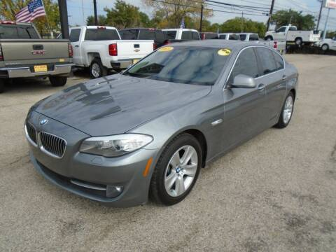 2013 BMW 5 Series for sale at BAS MOTORS in Houston TX