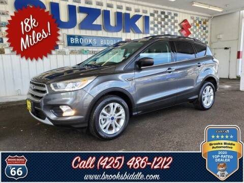 2017 Ford Escape for sale at BROOKS BIDDLE AUTOMOTIVE in Bothell WA