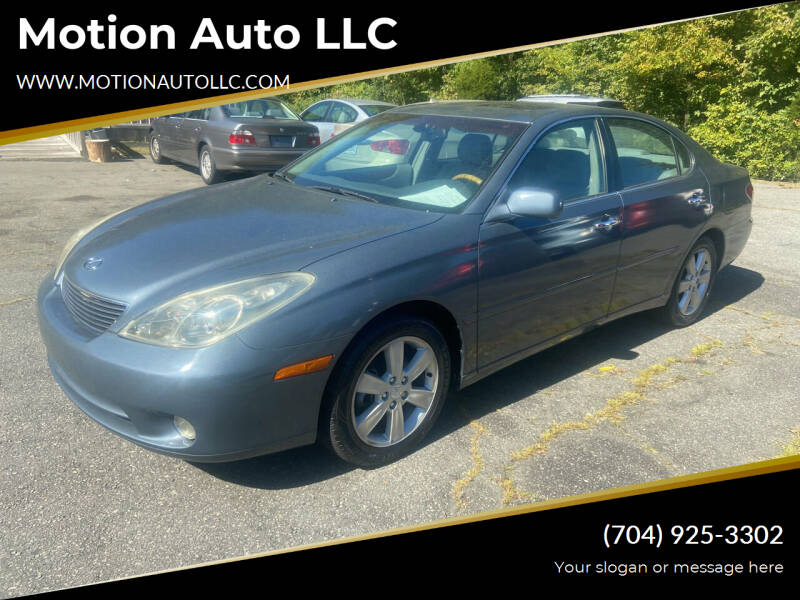 2005 Lexus ES 330 for sale at Motion Auto LLC in Kannapolis NC